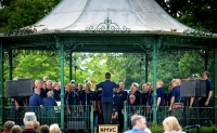 Bands in the Park, Abington Park 21 July 2019
