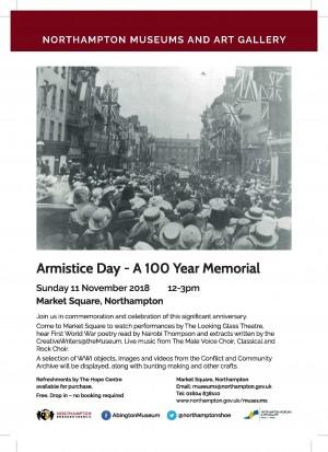 Armistice Day flyer PRINTREADY